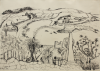 Early, Tom (1914-1967): Schiller Memorial, St Mary's, Scillies, signed and dated 1948, ink on paper, 25.5 x 35.5 cms. Presented by the artist's widow, Mrs Eunice Campbell.