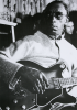 Gibson, Pete (born 1944): Mississippi Fred McDowell (1904-1972), London 1969, photograph, 42 x 29.5. Presented by the artist.