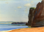 Jameson, Frank (1899-1968): Paignton, Devon, signed, watercolour, 26 x 36 cms. Presented by Mrs Susan Fraser in memory of her parents, Arthur and Lilian Lee.