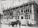 Unknown artist (early 20th century): Falmouth Police Station under construction, 1901, photograph, 29 x 39 cms. Presented by Charlie Batten.