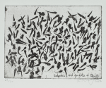 Jackson, Kurt (born 1961): Tadpoles and froglets of Penwith, 2006, signed, etching (27 from an edition of 30), 31.5 x 35 cms.