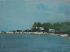 Bickford, Michael (born 1939): Point on the river Fal, 2009, signed, oil on panel, 30 x 40.5 cms.