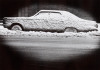 Stern, Ian (1947-1978): Car with snow, photograph, 20.5 x 25.5 cms. Presented by the photographer's family.
