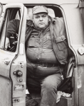 Stern, Ian (1947-1978): The driver, photograph, 25.5 x 20.5 cms. Presented by the photographer's family.