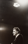 Stern, Ian (1947-1978): The Evangelist- Billy Graham, photograph, 23.5 x 15.5 cms. Presented by the photographer's family.