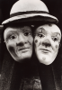 Stern, Ian (1947-1978): Masks, signed and dated 1965, photograph, 24 x 19 cms. Presented by the photographer's family.