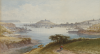 Hart, Thomas FSA (1830-1916): A view of Falmouth, signed, watercolour, 19 x 33.5 cms. Presented by Jill Armitage-Lewingdon in memory of Joan Rhodes (nee Armitage).
