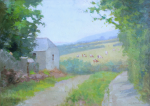 Richardson, John Thomas (1860-1942): Love Lane, Falmouth, signed and dated 1911, oil on board, 25.5 x 35.5 cms. Presented by Jill Armitage-Lewingdon in memory of Joan Rhodes (nee Armitage).
