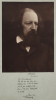 Cameron, Julia Margaret (1815-1879): Alfred Lord Tennyson (1808-1892), dated 1975, photograph, 56.5 x 40 cms. Present by Phil Harris.