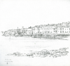 Bowen, Donald (born 1917): Falmouth, 22 July 1969, signed and dated 1969, pencil on paper, 22.3 x 22 cms. Presented by the artist.
