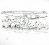 Bowen, Donald (born 1917): The Fal, signed and dated 1969, pencil on paper, 22.3 x 22 cms. Presented by the artist.