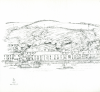 Bowen, Donald (born 1917): Penryn, signed and dated 1971, inscribed Penryn, pencil on paper, 22.3 x 22 cms. Presented by the artist.