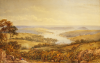 Philp, James George (1816-1885): Falmouth from near the Helston Road, signed, Watercolour, 27.6 x 43.9 cms.