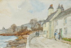Pennington, George Farquhar (1872-1961): Cottages on the seafront road, St Mawes, watercolour, 19 x 28 cms. Presented by Dower, Agnes.