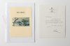 Lanyon, Andrew (born 1947): Letter from Lanyon - 'Bremhill House' and Art Seeds pamphlet, signed, letter and pamphlet, letter: 18 x 14 cms,  pamphlet: 15 x 21.4 cms. New Expressions 2 supported by MLA Renaissance South West and the National Lottery through Grants for the Arts. Commission.