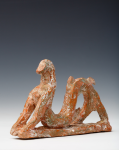 Abrahams, Ivor RA (1935-2015): Serpent figure as featured in La Mediterranee, ceramic maquette, 10 cms. Presented by Professor Ivor and Evelyne Abrahams.