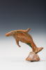 Abrahams, Ivor RA (1935-2015): Dolphin as featured in La Mediterranee, ceramic maquette, 8 cms. Presented by Professor Ivor and Evelyne Abrahams.