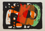 Davie, Alan (1920-2014): Zurich Improvisations XXII, publisher: Editions Alecto, signed, lithograph (Artist's Proof, from a portfolio of 34 prints), 63 x 89 cms. Bequeathed by Margaret Whitford through the Art Fund. Bequest.