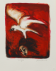 Pacheco, Ana Maria (born 1943): Eagle, signed and dated 2004, screenprint (17 of an edition of 25), 35.6 x 29.3 cms. Bequeathed by Margaret Whitford through the Art Fund. Bequest.