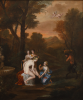 Killigrew, Anne (1660-1685): Venus attired by the Three Graces, oil on canvas, 112 x 95 cms. Purchased with funding from the V & A Purchase Grant Fund, Heritage Lottery Fund, The Art Fund, The Beecroft Bequest, Falmouth Decorative and Fine Arts Society, The Estate of Barry Hughes in memory of Grace and Thomas Hughes and generous donations from local supporters.