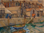 Whicker, Gwendoline J. (1900-1966): Bosun's Locker, Falmouth, signed, watercolour on board, 26.7 x 35.5 cms. Presented by Beecroft, Jane and Esme.