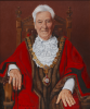Harold, Richard: Portrait of the Town Mayor of Falmouth, Councillor Geoffrey Evans CC, signed and dated 2012, oil on board, 64 x 54 cms.