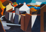 Lyons, Philip (born 1955): Summer Evening, Feock, signed, acrylic on board, 21.3 x 30 cms. Presented by Ashton, Dr P. M. E.