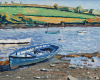 Tozer, Andrew: Last days of summer, Mylor Bridge, signed, oil on board, 50 x 56 cms. Presented by Ashton, Dr P. M. E.