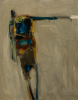 Crossley, Bob (1912-2010): The Slave, dated 1965, oil on board, 41 x 32.2 cms. Presented by Gardner, Grace. Bequest.