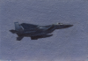 Priseman, Robert (born 1965): F-16, signed and dated 2013, oil on board, 12.7 x 17.8 cms. Presented by Priseman, Robert.