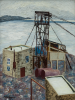 Morris, Cedric (1889-1982): Landscape, Cornwall (Quarry), signed, oil on canvas, 61 x 45.7 cms. Purchased with funding from the V & A Purchase Grant Fund, The Art Fund and Falmouth Decorative and Fine Arts Society. © Estate of Cedric Morris.