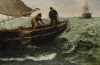 Hemy, Charles Napier RA RWS (1841-1917): Falmouth Natives, signed, oil on canvas, 81 x 122 cms. Funded by The Art Fund and ACE/V&A Purchase Grant Fund.