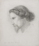 Unknown artist (19th century): Charles Napier Hemy, Antwerp, pencil on paper, 30.5 x 26 cms. Presented by Powell, Barbara.