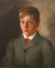 Tuke, Henry Scott, RA RWS (1858-1929): Portrait of A. J. MacLaren, signed and dated 1908, inscribed June 1908, oil on canvas laid down on board. RCPS Tuke Collection. Loan.