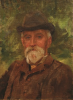 Tuke, Henry Scott, RA RWS (1858-1929): Howard Fox, dated 1909, oil on canvas board, 36.5 x 26.9 cms. RCPS Tuke Collection. Loan.