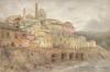 Tuke, Henry Scott, RA RWS (1858-1929): Mentone, signed and dated 1904, watercolour, 30.4 x 45.7 cms. RCPS Tuke Collection. Loan.