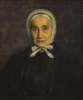 Tuke, Henry Scott, RA RWS (1858-1929): Portrait of Anna Maria Fox, signed and dated 1897, oil on canvas, 76 x 51 cms. RCPS Tuke Collection. Loan.