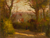 Richardson, John Thomas (1860-1942): Mongleath, Falmouth, signed and dated 1911, oil on canvas, 35.5 x 45.5. Presented by Tonkin, John and Valentine. Donation.